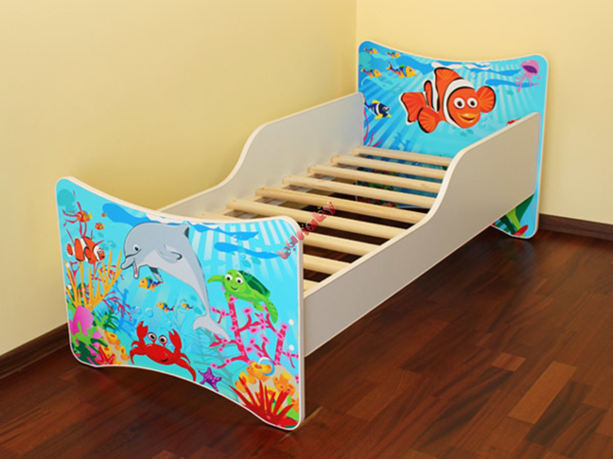 kinderbett ozean. Black Bedroom Furniture Sets. Home Design Ideas