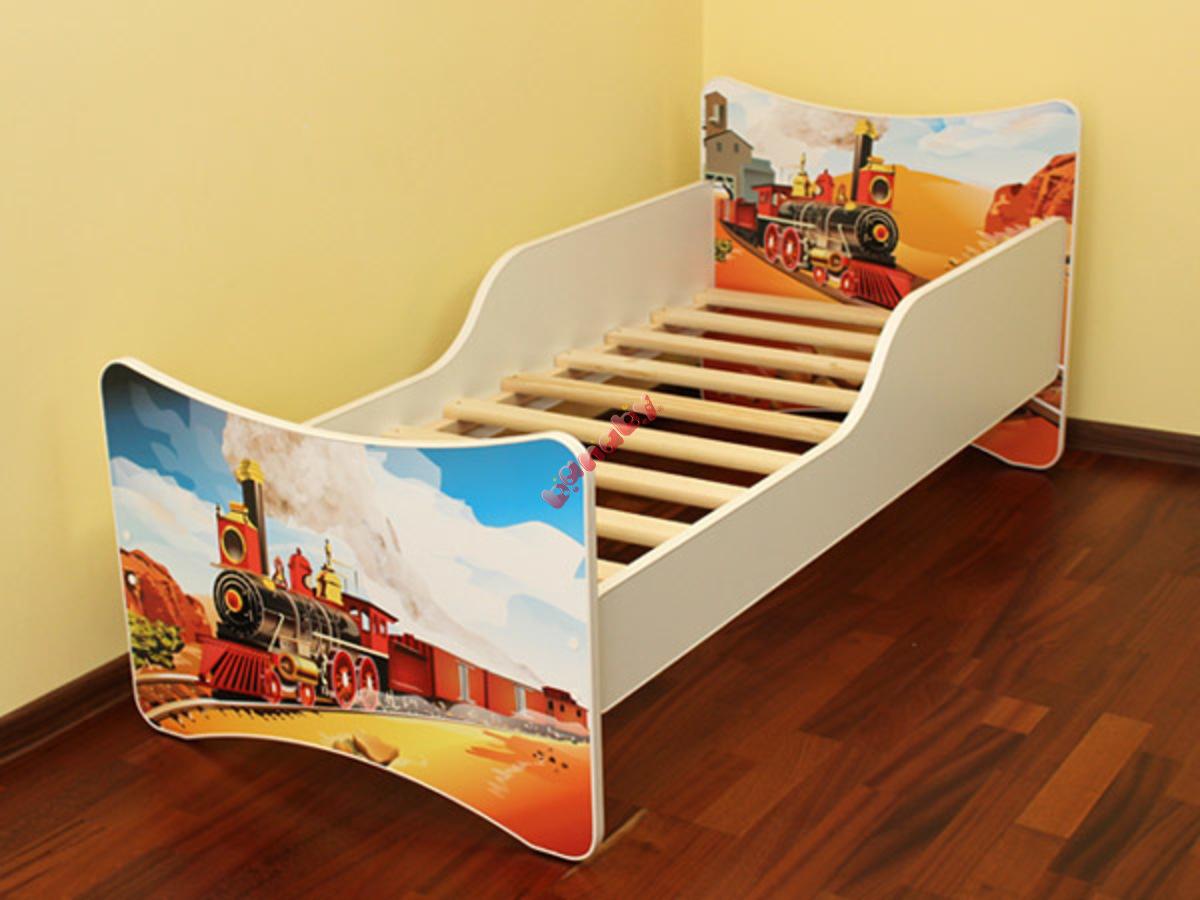 kinderbett zug. Black Bedroom Furniture Sets. Home Design Ideas