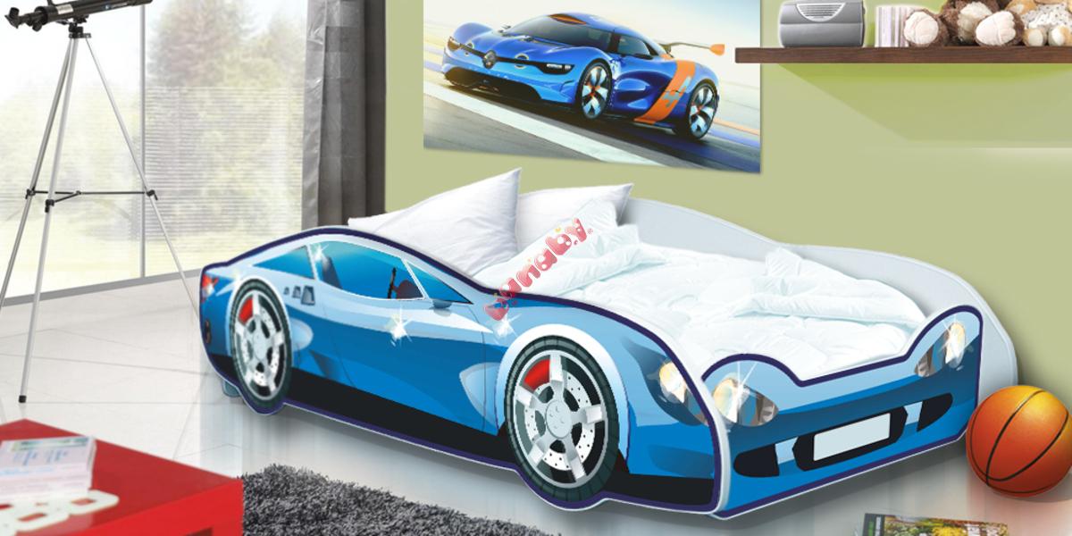 Kinder Bett Auto Speedy blue - banaby.de