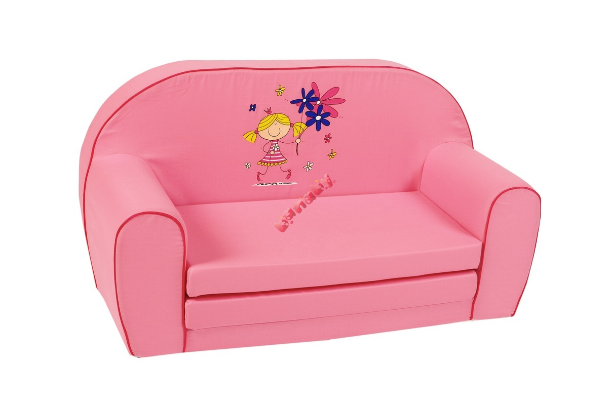kinder sofa baby m dchen pink. Black Bedroom Furniture Sets. Home Design Ideas