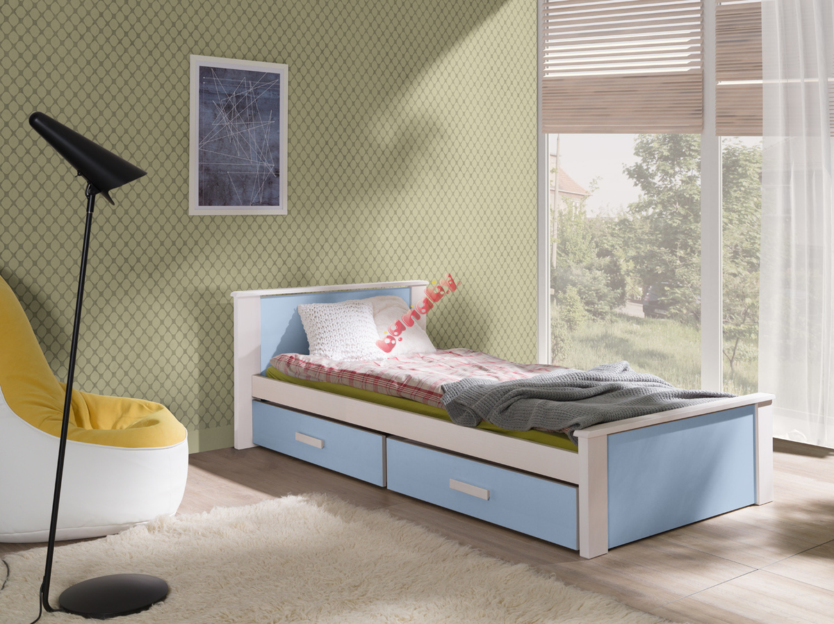 kinderbett donald blau. Black Bedroom Furniture Sets. Home Design Ideas