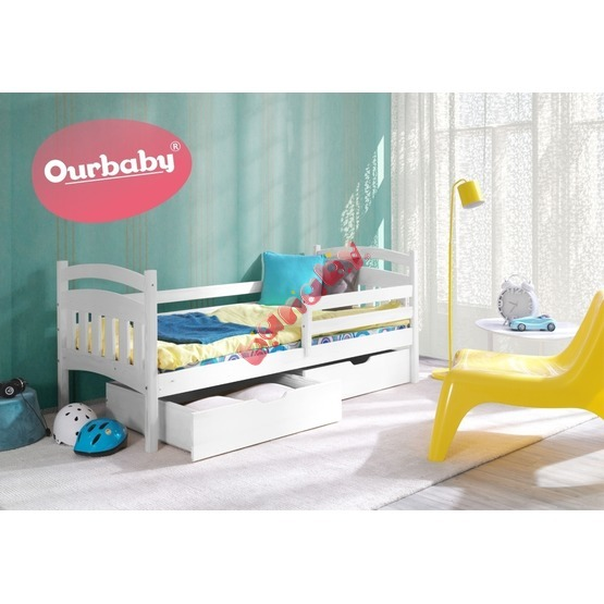 kinderbett ourbaby marco wei. Black Bedroom Furniture Sets. Home Design Ideas