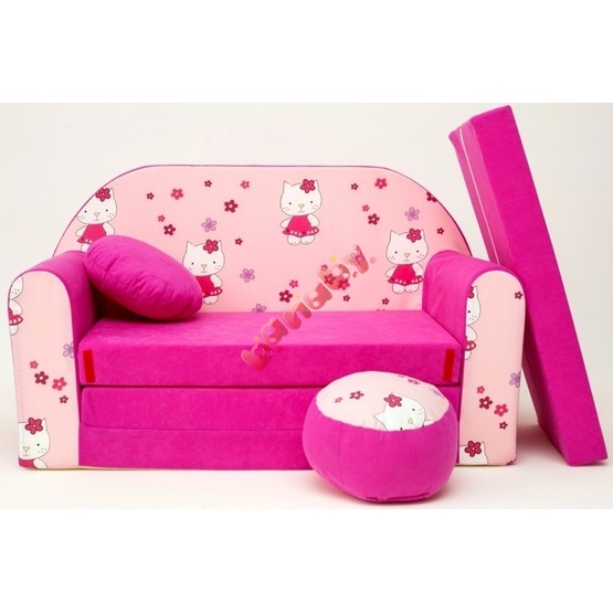 Kindersofa Hello Kitty
