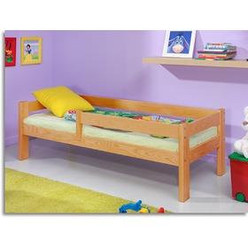 kinderbett mit gel nder erle. Black Bedroom Furniture Sets. Home Design Ideas