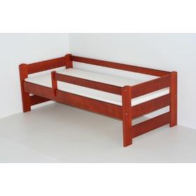 kinderbett mit barriere kirsche. Black Bedroom Furniture Sets. Home Design Ideas