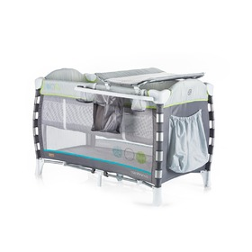 CHIPOLINO Reisen Kinderbett Play stift Casablanca Neo - grey