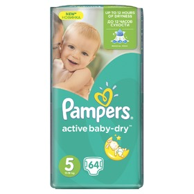 Pampers Giantpack Junior, Pampers