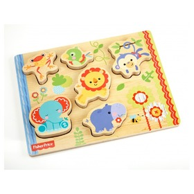 Fisher Price Holz- Puzzle, Fisher Price