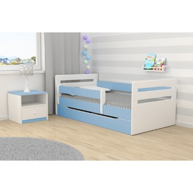 Ourbaby Kinder Bett Tomi - blue, All Meble