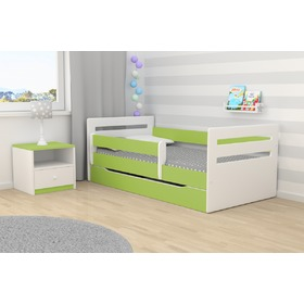 Ourbaby Kinder Bett Tomi - green, All Meble