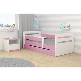 Ourbaby Kinder Bett Tomi - pink, All Meble
