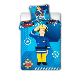 Kinder Bettbezug Fireworker Sam 008