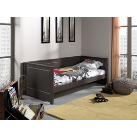 Kinder Bett Pino grey, VIPACK FURNITURE