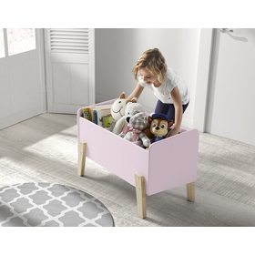 Spielzeugbox Kiddy - rosa, VIPACK FURNITURE