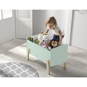 Spielzeugbox KIDDY - Minze, VIPACK FURNITURE