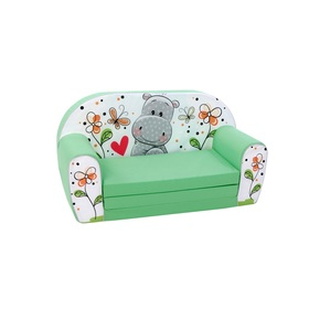 Kinder Sofa Bafana - green, Delta-trade