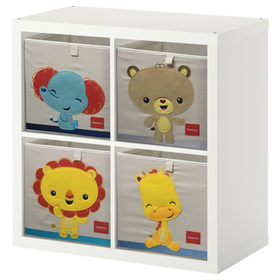 Kinder stofflich lagerung Box Fisher Price - bär, Fisher Price