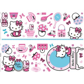 Wandaufkleber Hello Kitty, Decofun, Hello Kitty