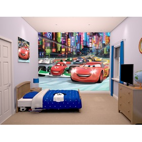 3D-Tapete Disney Cars II