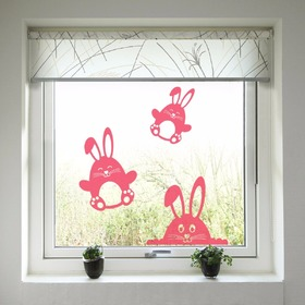 Ostern Dekoration  fenster - Bunnies, Housedecor
