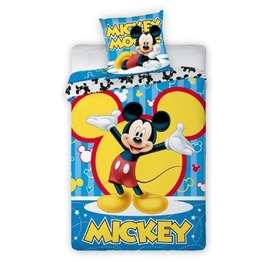 Kinder-Bettwäsche Mickey Maus 001, Faro, Mickey Mouse