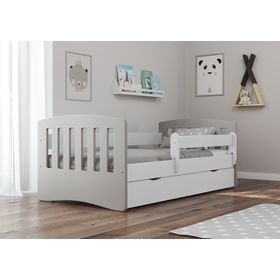 Kinder Bett Classic - grey, All Meble