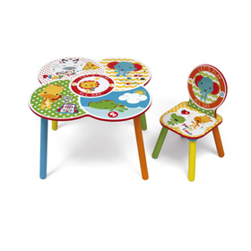 Kinder Platte mit stuhl Fisher Price, Fisher Price