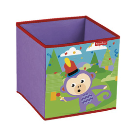 Kinder stofflich lagerung Box Fisher Price Monkey, Fisher Price