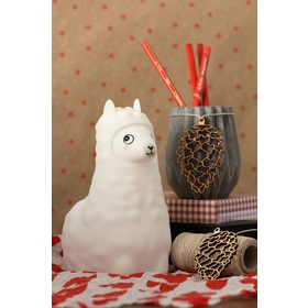 Lampe LED PUFI - Lama, cotton love