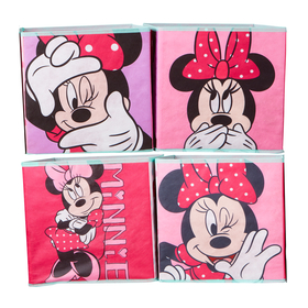 vier lagerung Boxes - Minnie Mouse, Moose Toys Ltd , Minnie Mouse
