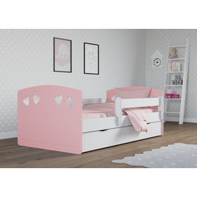 Kinder Bett Julie - pink, All Meble