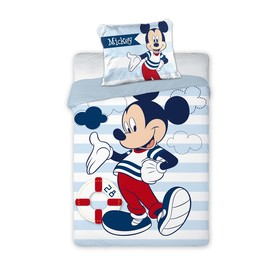 Kinder Bettbezug Mickey Mouse 076, Faro, Mickey Mouse