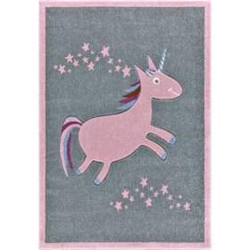 Kinderteppich Happy Rugs - Einhorn, LIVONE