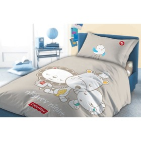 Kinder-Bettwäsche Fisher Price - nighty night, Faro